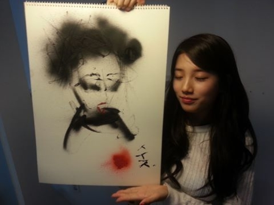 miss A's Suzy Reveals A Piece Of Art She Created