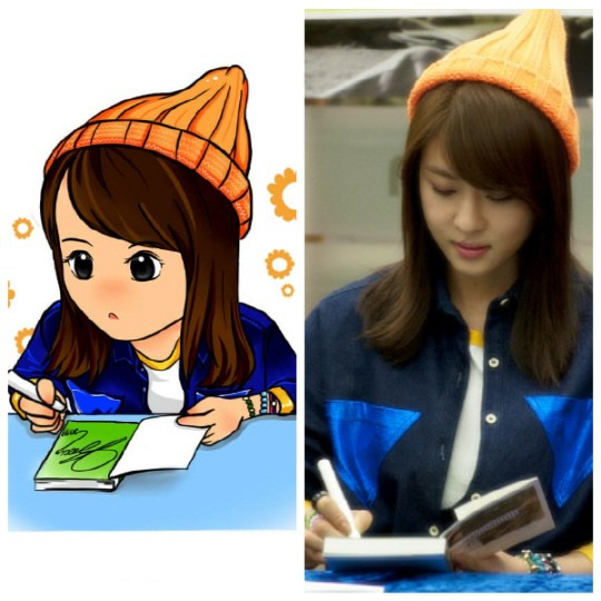 Actress Ha Ji Won Expresses Delight Over Fan Art