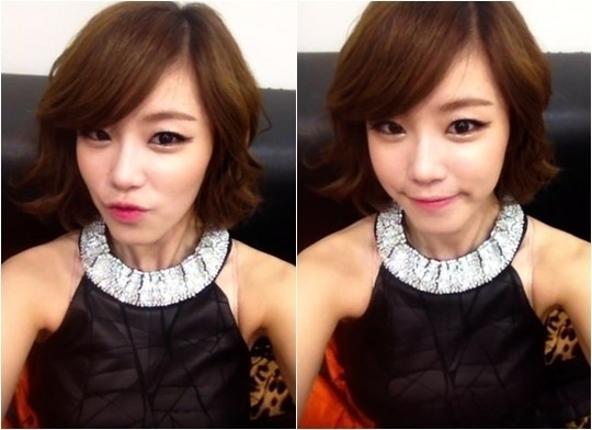 Secret's Hyosung Reveals Selca for The New Year