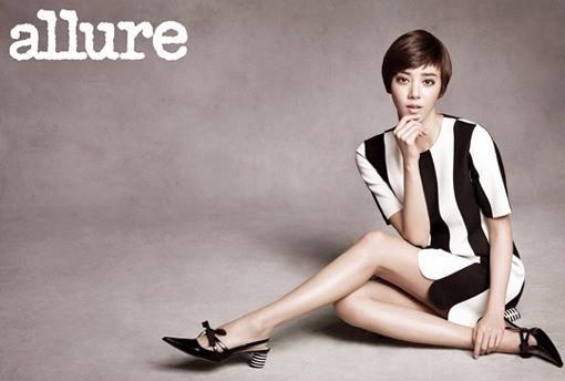 Son Dam Bi Dazzles the Allure Korea Photoshoot