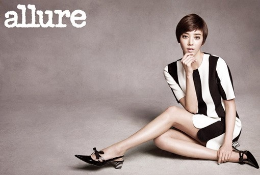 Son Dam Bi Dazzles the Allure Korea Photoshoot