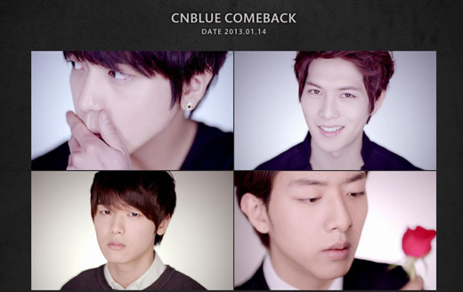Watch the CNBlue Teasers and Figure Out the Secret?