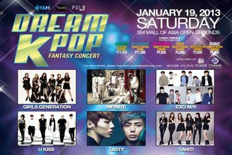 """Dream K-Pop Fantasy Concert"" Performers Meet the Press in Manila"