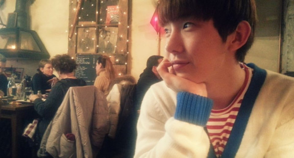 2AM's Jo Kwon Takes A Trip To France