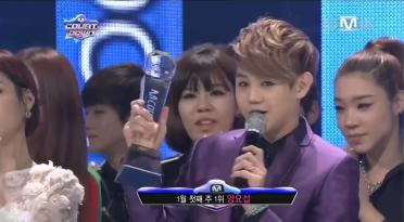 Mnet M! Countdown – January 3, 2013