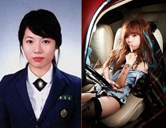 The Awkward Years: Female K-Pop Idols' Middle School Graduation Photos