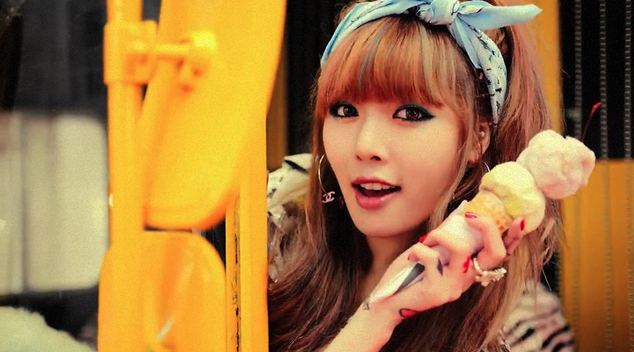 HyunA Attracts Attention with Mature Figure During Middle School Days