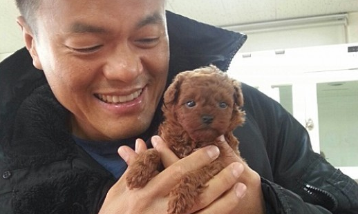 Park Jin Young Shows Off His New Adorable Puppy
