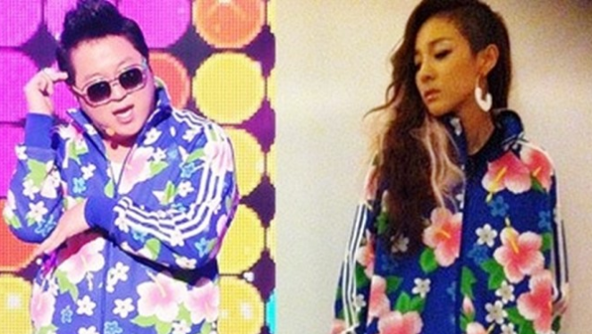 Who Wore It Better: Jung Hyung Don vs. 2NE1's Sandara