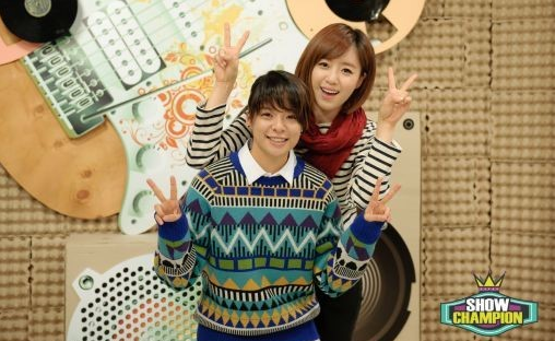 T-ara's Eunjung and f(x)'s Amber to Emcee Music Program