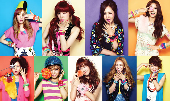 Girls' Generation Promotes Baby-G Watches for Casio