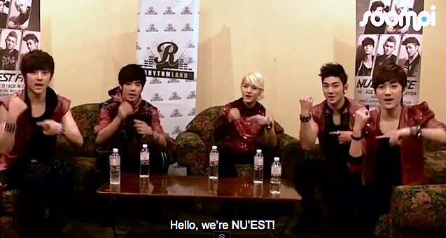 [Interview] NU'EST Talks About Their Trainee Days, Twitter, and Weird Habits!