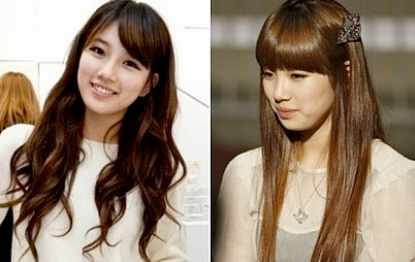 Fabulous Female Idols Beauty Battle Wavy Vs Straight Hairstyle Soompi Short Hairstyles Gunalazisus
