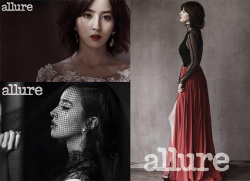 "Han Hye Jin Looks Beautiful and Mature for ""Allure Korea"""