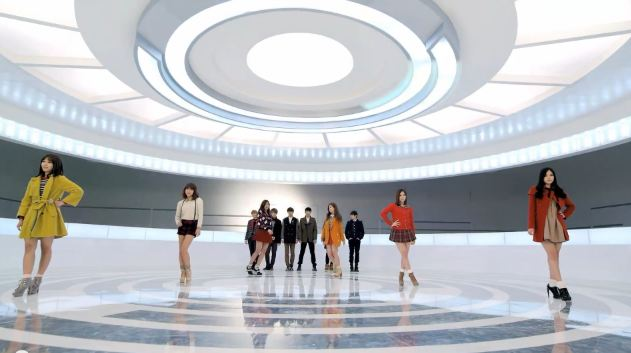 "Beast and APink Release ""5 My Baby"" MV for Skoolooks"