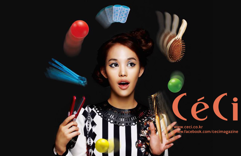 [Ceci] It's Magic! Quick Party Hair Tutorial Part 2: Party Up Style