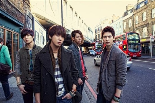CNBlue Reveals New Album Jacket Cover