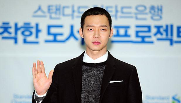 JYJ's Park Yoo Chun Gets a Buzz Cut
