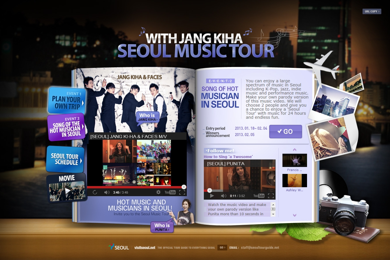 "Get Ready for ""With Jang Kiha Seoul Music Tour"""