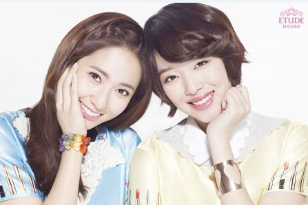 f(x)'s Krystal and Sulli Are the New Faces of Etude House