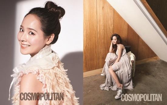 Eugene Looks Beautiful for Cosmopolitan