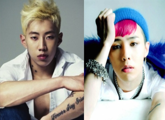 G-Dragon Shows His Friendship with Jay Park on Twitter