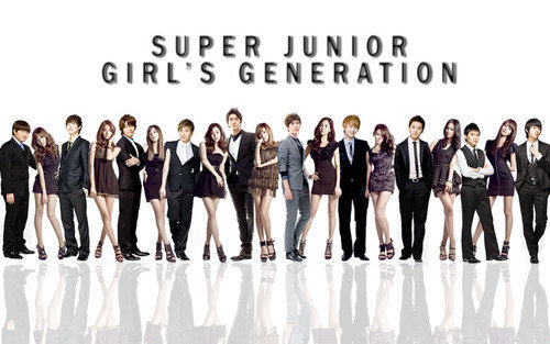 girls generation super junior
