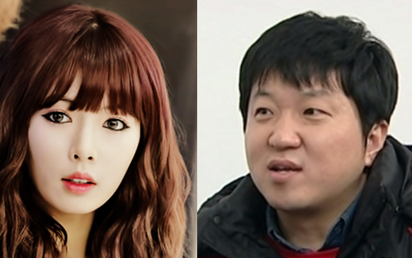 "HyunA Hangs Up on Jung Hyung Don on ""Weekly Idol"""