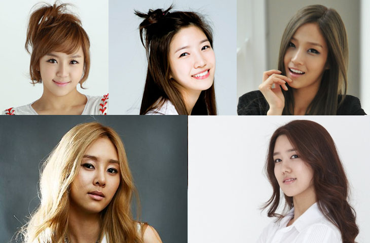 Female Stars Expose Their Bare Faces With No Makeup for TV Program