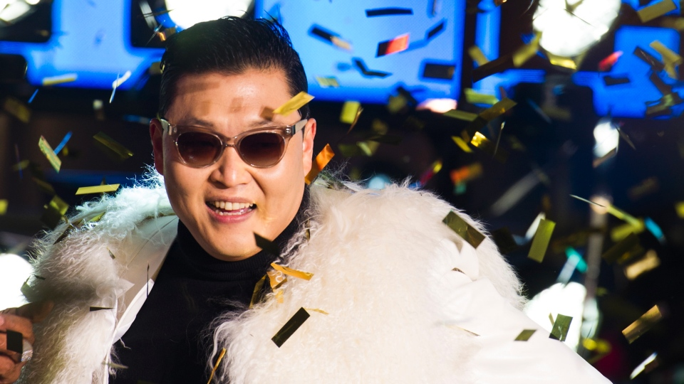 PSY Celebrated His Birthday at Caesars Palace's Pure Nightclub in Las Vegas
