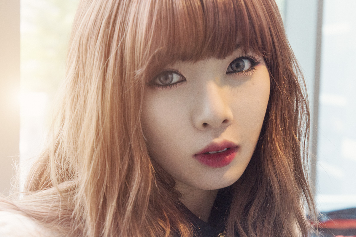 "4Minute's HyunA Is The New Face of ""G By Guess"""