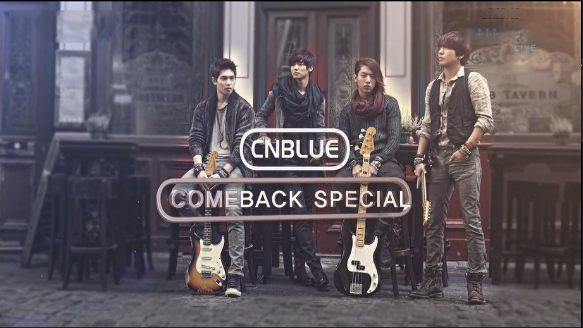 """CNBLUE Performs """"Coffee Shop"""" and """"I'm Sorry"""" for Inkigayo Comeback Stage"""