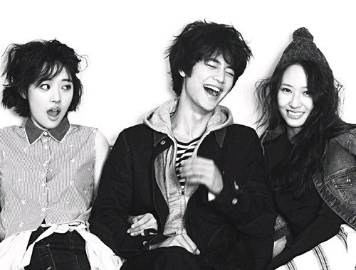 "Minho, Sulli, and Krystal Look Like Siblings in ""High Cut"""