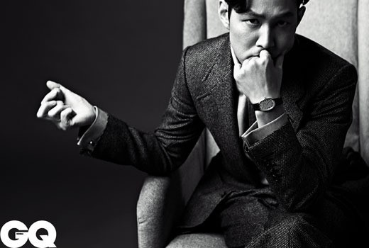 "Lee Jung Jae Is Dark and Mysterious for ""Vogue"" and ""GQ"" Magazines"