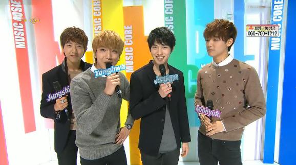 MBC Music Core 01.19.13
