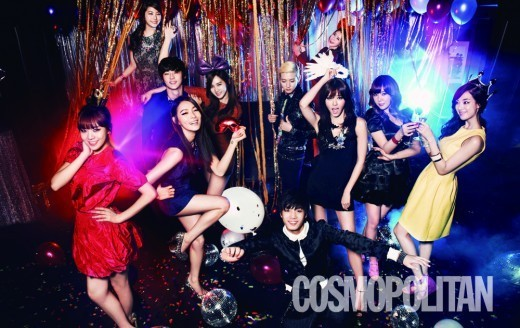 Son Dam Bi, Kahi, and Other Celebs from Pledis Entertainment Pose for Cosmopolitan