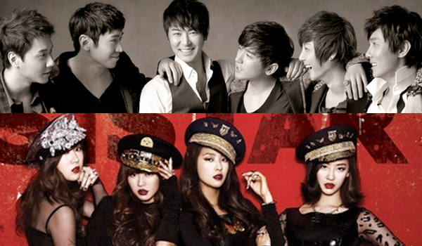 SISTAR and Shinhwa to Act as Married Couples