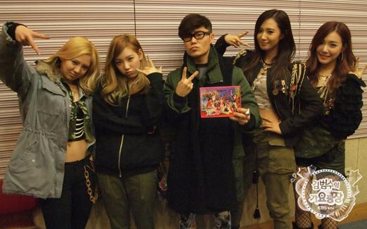 Girls' Generation Looks Cute in Khaki for Radio Show