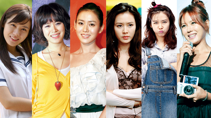 [Ceci] Beauty Legend: Son Ye Jin's Beauty Transformation over the Years