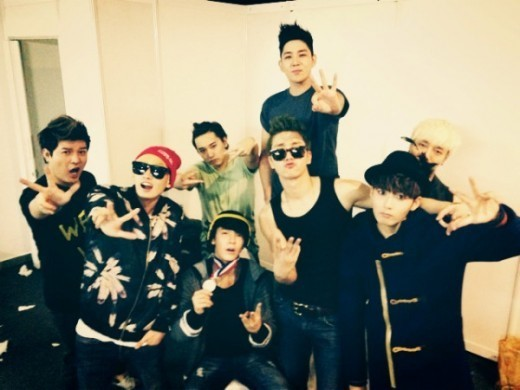 Super Junior Shares a Group Photo After Winning Grand Prize at the Golden Disk Awards