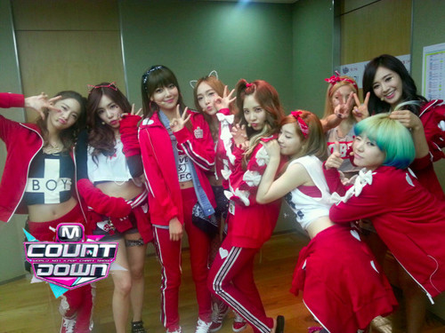 Mnet M! Countdown – January 24, 2012