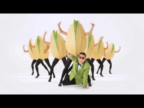 PSY | Wonderful Pistachios Get Crackin' Super Bowl 2013 Ad Video Thumbnail