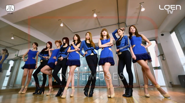 "9Muses Releases ""Let's Dance"" Tutorial for ""Dolls"""