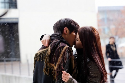 NU'EST's JR and Actress Nam Bora Share a Sweet Kiss