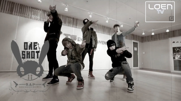 """B.A.P Teaches Their Manly Dance Moves from """"One Shot"""""""