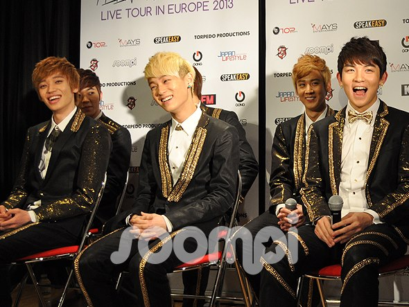 [Press Conference] Teen Top Talk About European Tour and Upcoming Album