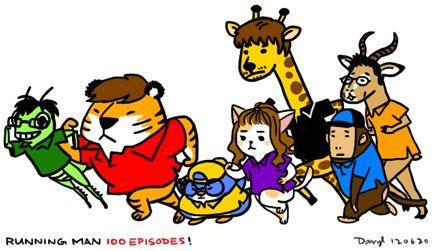 "Animal Characters of ""Running Man"" Members"