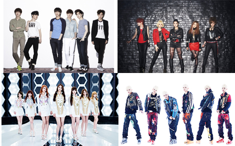 [Video] 2012 K-Pop Group Debuts