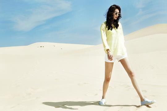 Shin Min Ah Heats Up the Desert!