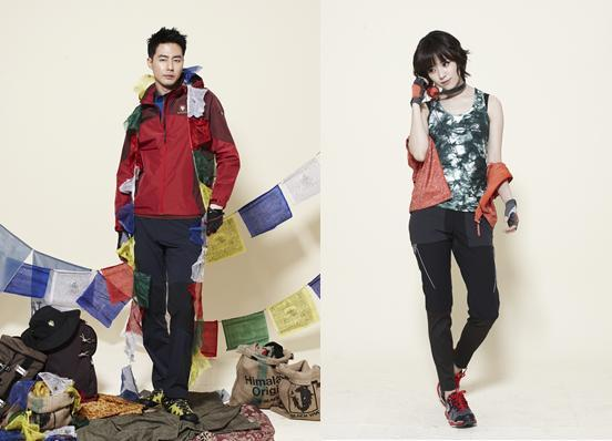 Jo In Sung and Han Hyo Joo for Black Yak